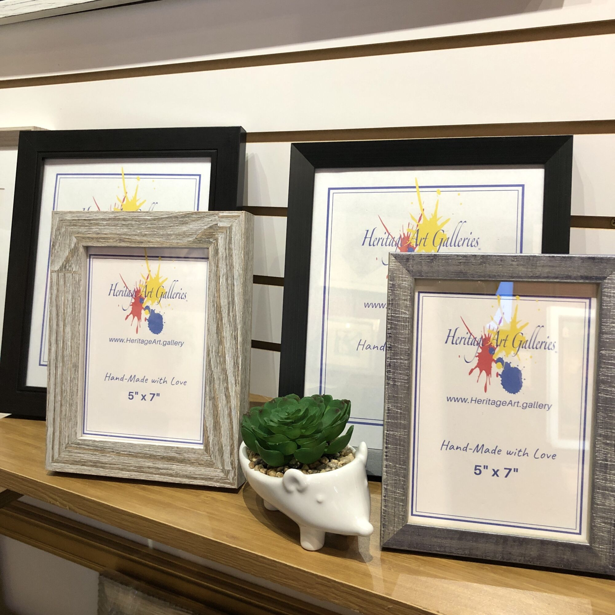 Picture Frames with easel back
