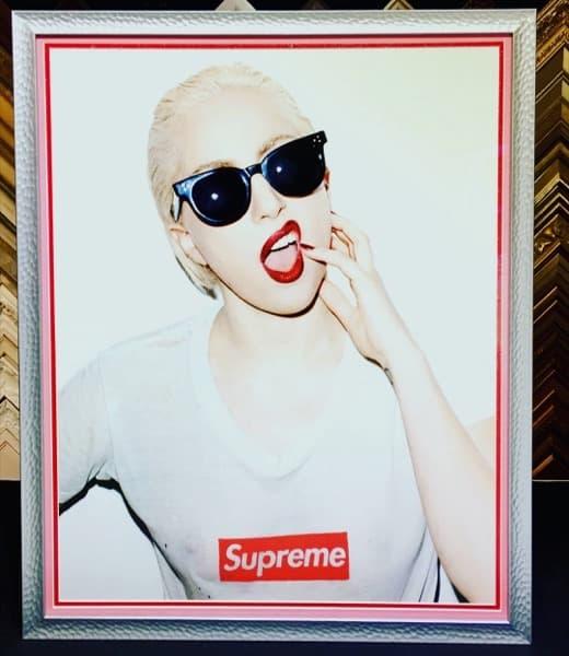 Lady Gaga poster custom poster frame