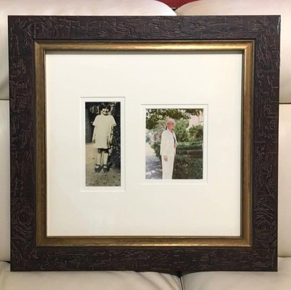 mother through the years keepsake custom photo frame