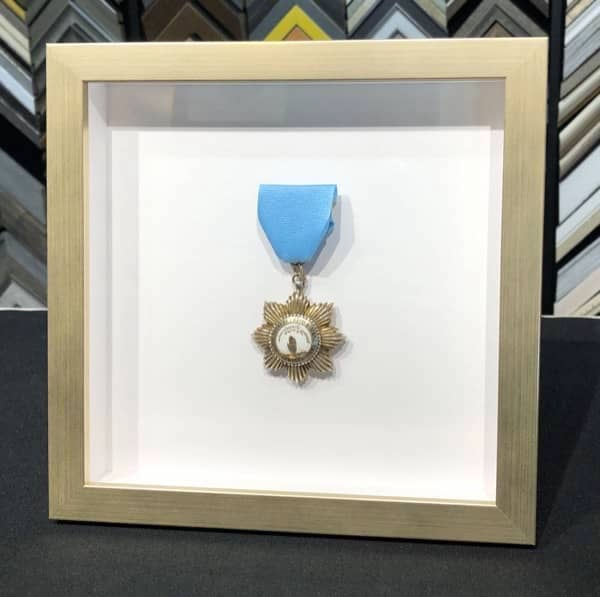 custom framed Medal of Honor