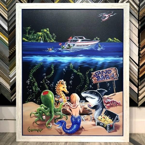 Art by Godard professionally framed