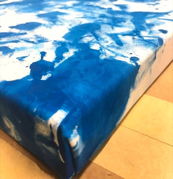 professionally stretched canvas