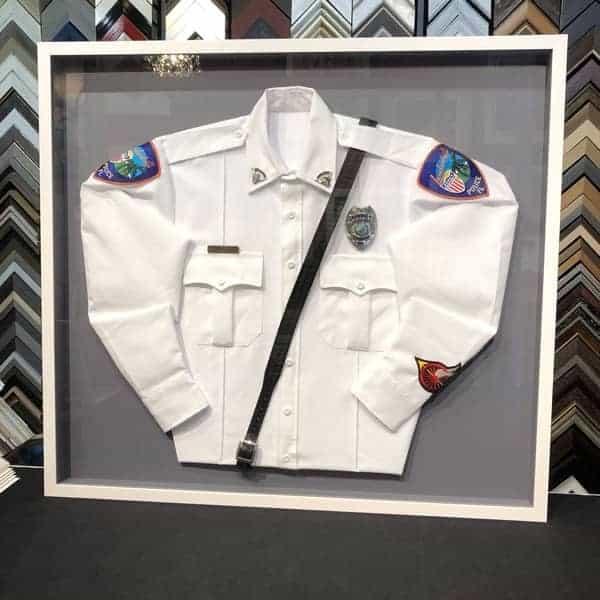 We frame uniforms