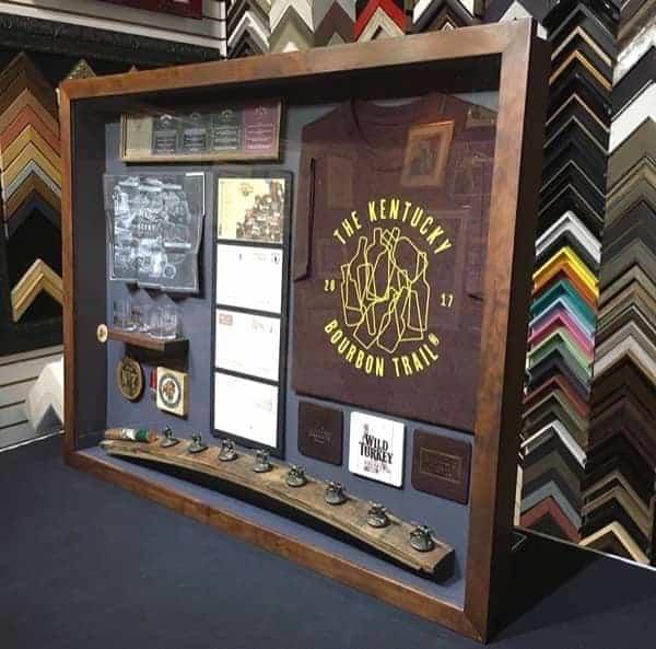 custom box frame for vacation souvenirs